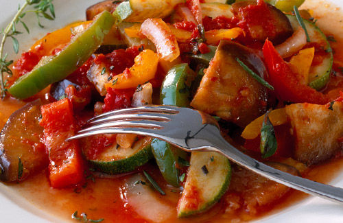 The version of ratatouille from the film is called Confit Byaldi, a ...