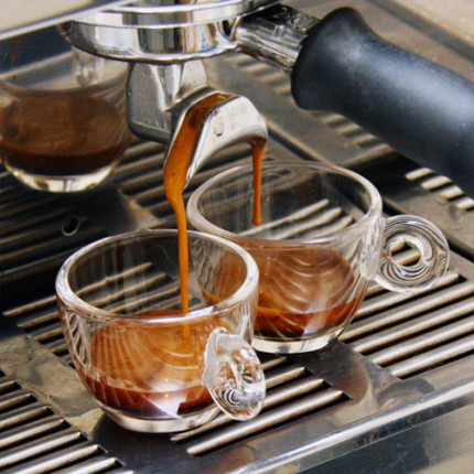 Double Espresso [Photo Credit: Coffeegeek, PublicDomain]