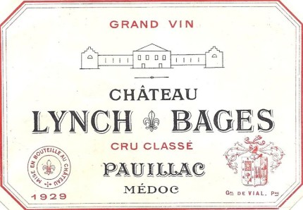 Lynch-Bages Label / Arnauddevial / CC BY-SA 3.0