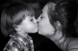 french parenting kiss