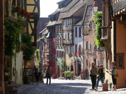Riquewihr [Photo Credit: Creative Commons 3.0, Jpkrebs]