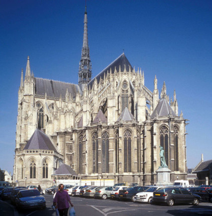 Amiens Cathedral [Photo Credit: Dag Nilsen, Creative Commons 3.0]