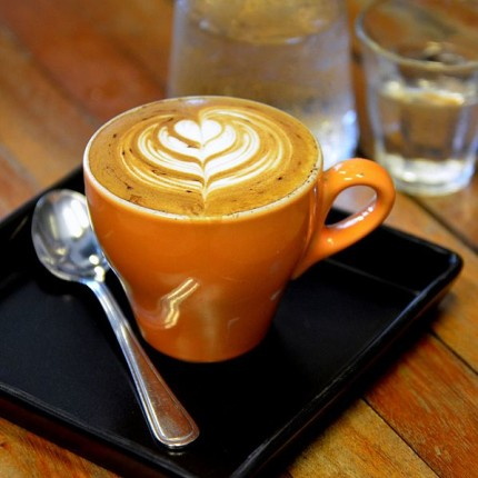 Latte Art [Photo Credit: Takeaway, CC BY-SA 3.0]